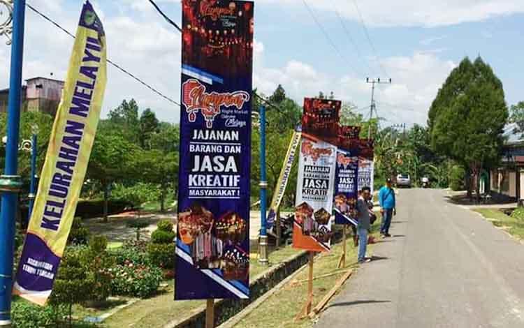 Pemerintah Kelurahan Melayu, Kecamatan Teweh Tengah, Kabupaten Barito Utara, berencana mengadakan Lampion Night Market untuk pelaku usaha di Taman Lampion Wira Praja, RT 33A.