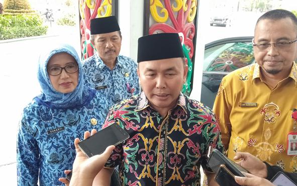 Gubernur Kalimantan Tengah Sugianto Sabran mengimbau masyarakat terus menjaga kondusivitas daerah jelang pelantikan presiden dan wakil presiden, Joko Widodo - Ma\'ruf Amin.