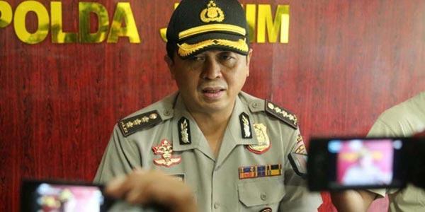 Kabid Humas Polda Jatim Kombes Frans Barung Mangera menyampaikan, Densus 88 Antiteror Polri menangkap lagi 2 terduga teroris di Malang.