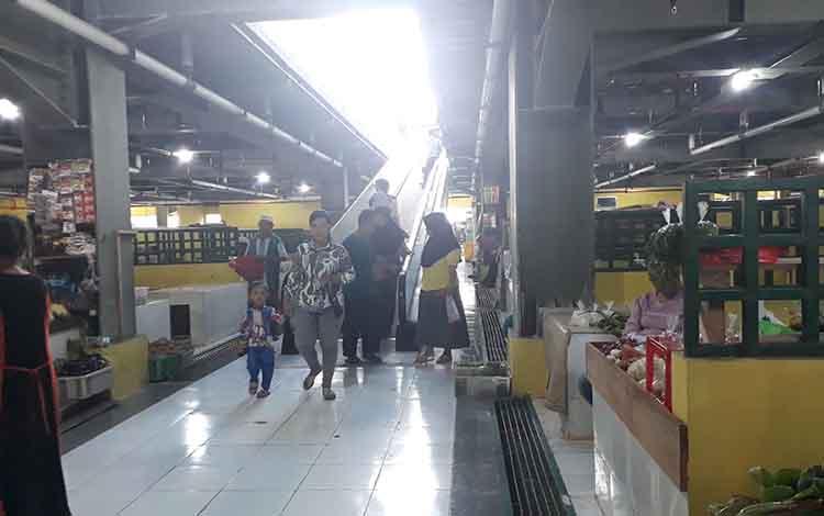 Warga senang, pasar Indra Sari Blok A dan B khusus SAIK lebih modern.