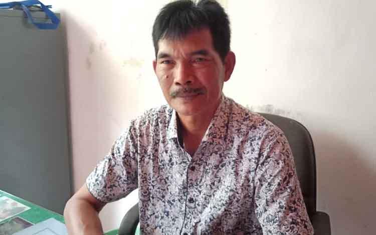 Kabid Adminitrasi danKelembagaan Desa, DSPDM Barito Selatan, Samsul Bahri. Saat ini masih ada tiga hasil Pilkades masih dilakukan mediasi