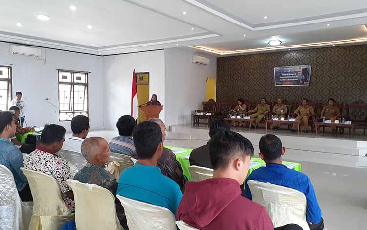 Selain menggelar pelatihanKelompok Pengelola Sistem Air Minum (KPSAM), Pamsimas juga akan membentuk Asosiasi KPSAM Perdesaan di Kabupaten Sukamara