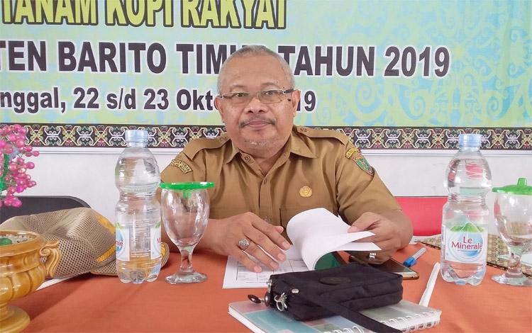 Kepala Dinas Pertanian dan Peternakan Barito Timur, Riza Rahmadi. Dia menyebut sudah menjadi kewajiban pemerintah untuk mmenyediakan sarana produksi untuk mendukung petani
