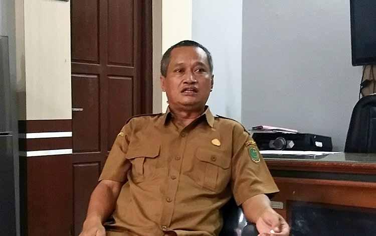 SOPD: Kepala Dinas Pertanian Pulang Pisau, Slamet Untung Rianto mengungkapkan bahwa pihaknya membutuhkan anggaran sekitar Rp 20 miliar untuk memaksimalkan program, Selasa 22 Oktober 2019/
