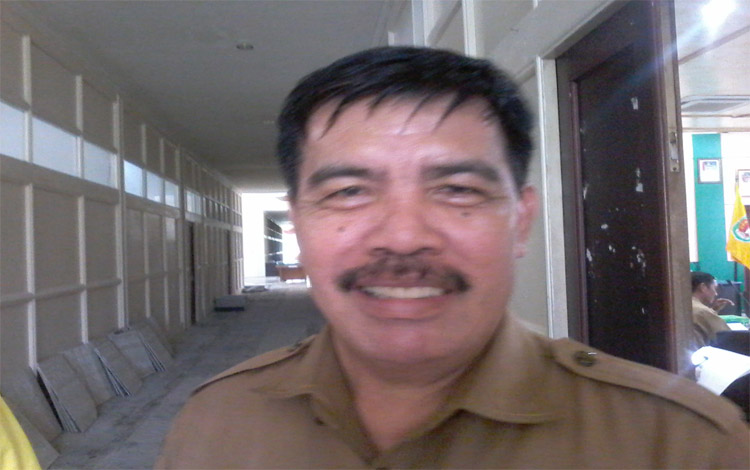Kepala BKPP Kabupaten Katingan, Bambang Harianto saat diwawancarai soal penerimaan CPNS 2019