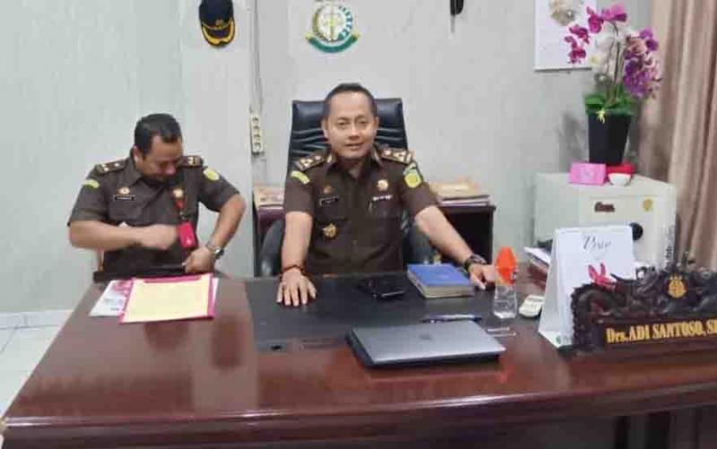 Asisten Pidana Khusus (Aspidsus) Kejati Kalteng, Adi Santoso.