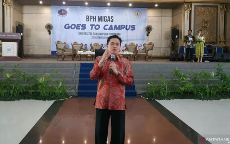 Kepala Badan Pengatur Hilir Minyak dan Gas Bumi (BPH Migas) M Fanshurullah Asa. (ANTARA/Andilala)