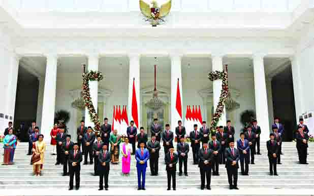 Kabinet Indonesia Maju. (foto : teras.id)