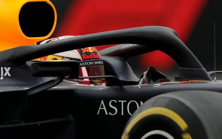 Pebalap Formula 1 dari tim Red Bull, Max Verstappen. (REUTERS/CARLOS JASSO)