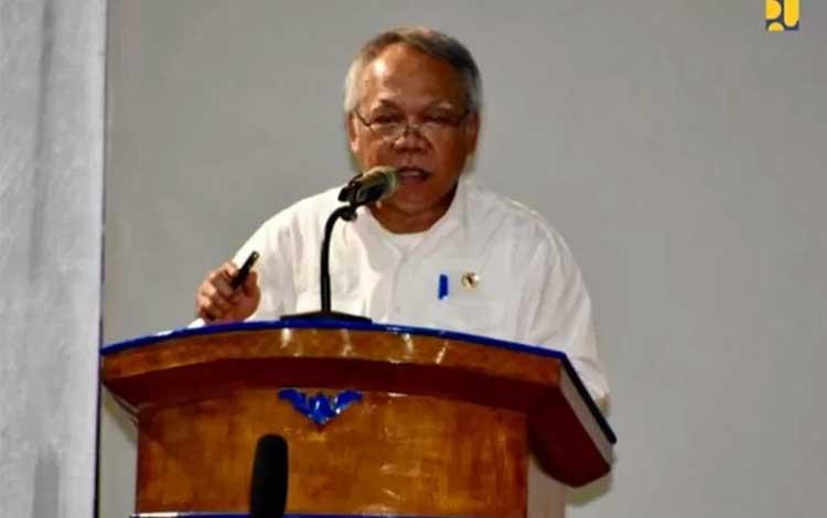 Menteri Pekerjaan Umum dan Perumahan Rakyat Basuki Hadimuljono. ANTARA/Dok Kementerian PUPR