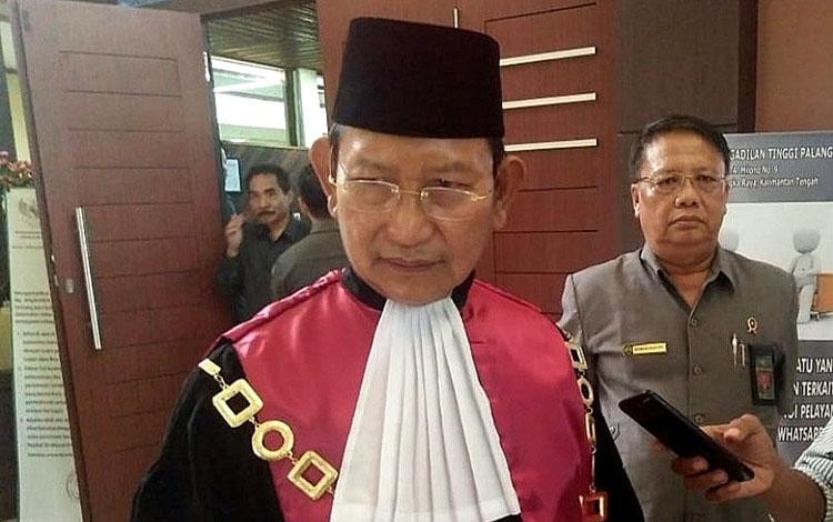 Ketua Pengadilan Tinggi Palangka Raya, Mochamad Hatta