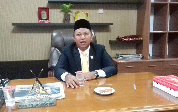Wakil Ketua DPRD Kotim, Rudianur.