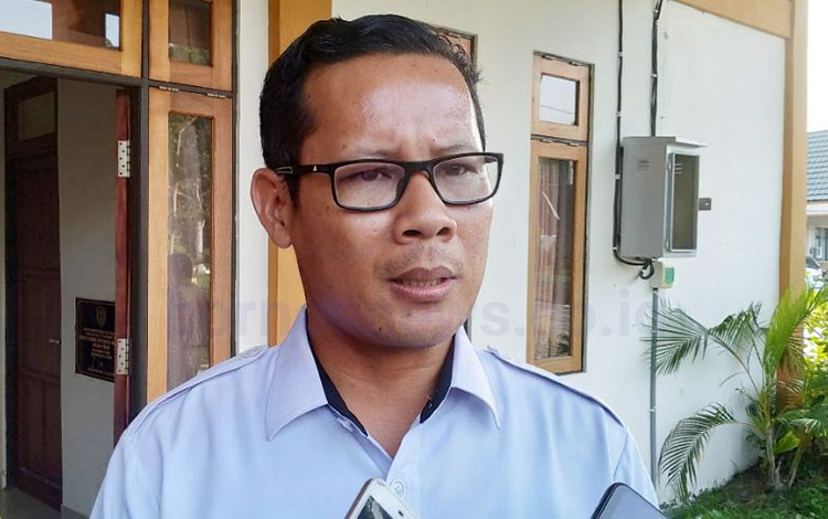 Kepala Kantor ATR-BPN Pulang Pisau, Iwan Susianto.