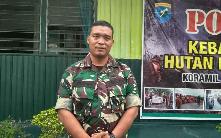 Danramil Arsel 1014-01 P.Bun Lettu Inf Faturahman menyampaikan sudah ada 18 putra daerah Kobar yang telah mendaftar menjadi calon anggota TNI AD, Kamis 30 Oktober 2019