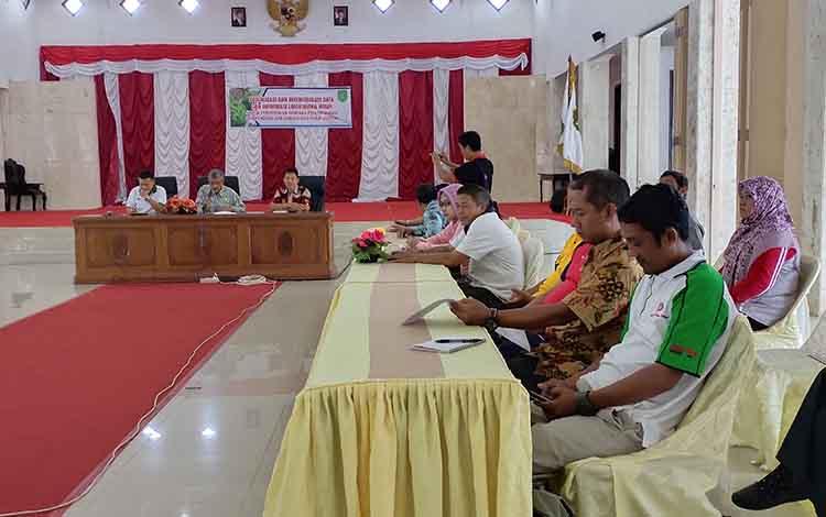 Asisten II Setda Sukamara, Zulkifli mengatakan hasil RPPLH Provinsi Kalteng menjadi acuan Pemkab Sukamara.