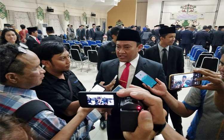 Bupati Pulang Pisau, Edy Pratowo mengingatkan dalam melaksanakan tugas, ASN bukan menjalankan visi misi pribadi, Rabu 6 November 2019