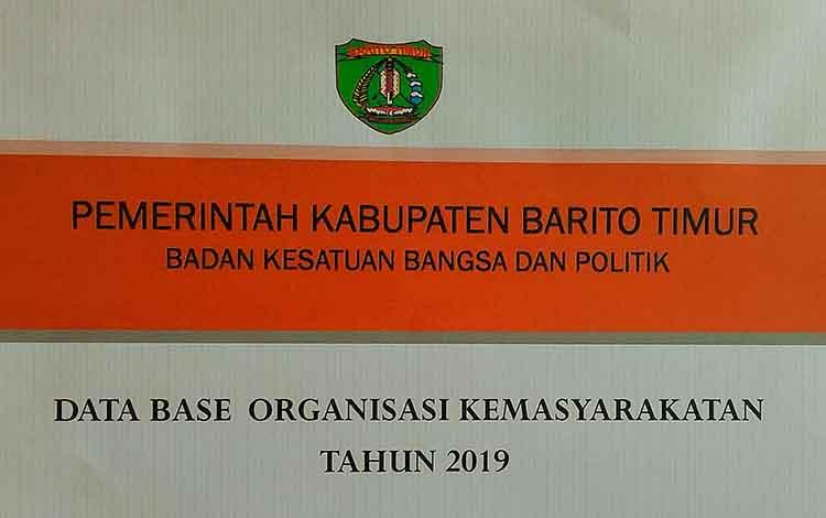 Badan Kesbangpol Barito Timur merilis daftar 17 organisasi masyarakat dan LSM yang terdaftar.