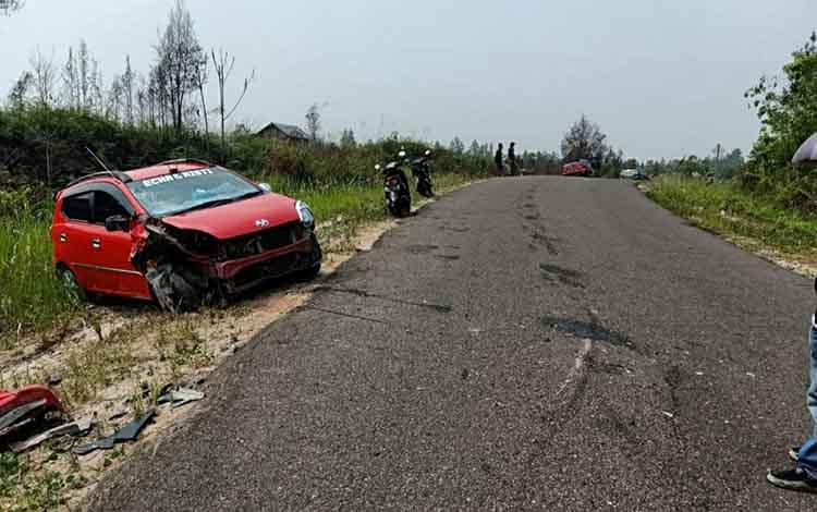 Kecelakaan maut di Jalan Lintas Palangka Raya - Buntok, mengakibatkan satu korban tewas pada Kamis, 7 November 2019