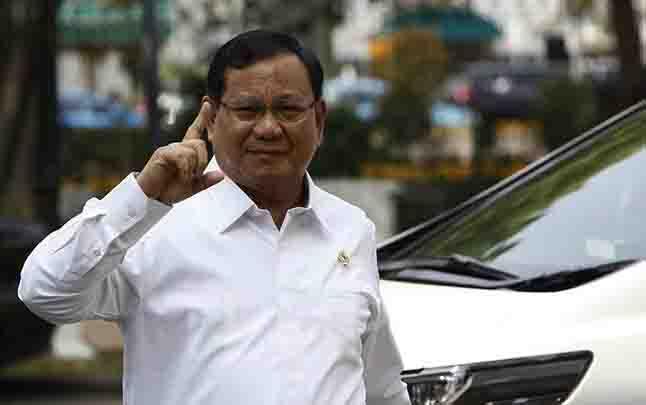 Menteri Pertahanan, Prabowo Subianto. (foto : tempo.co)