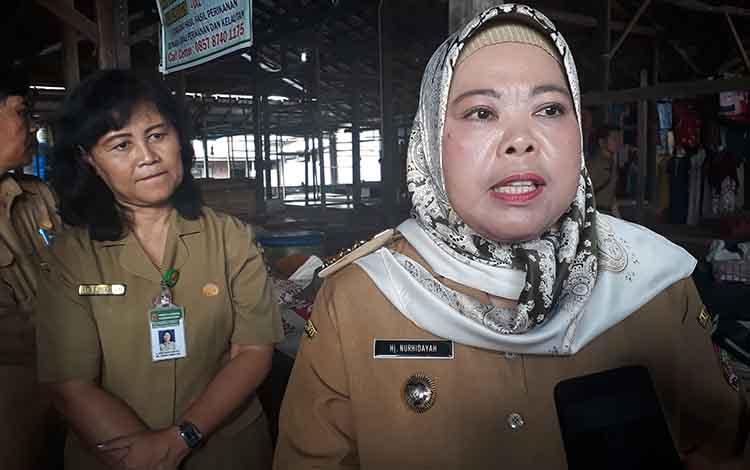 Bupati Kobar Hj Nurhidayah sampaikan Pemkab Kobar akan mekarkan 3 Kelurahan.