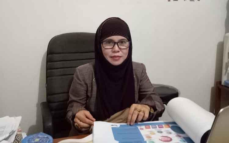 Komisioner KPU Kapuas, Muntiara mengatakan sosialisasi audiensi Rumah Pintar Pemilu untuk tingkatkan pemahaman demokrasi