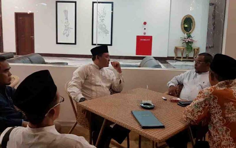 Pertemuan PKS Kalteng dan PKB, Jumat, 8 November 2019.