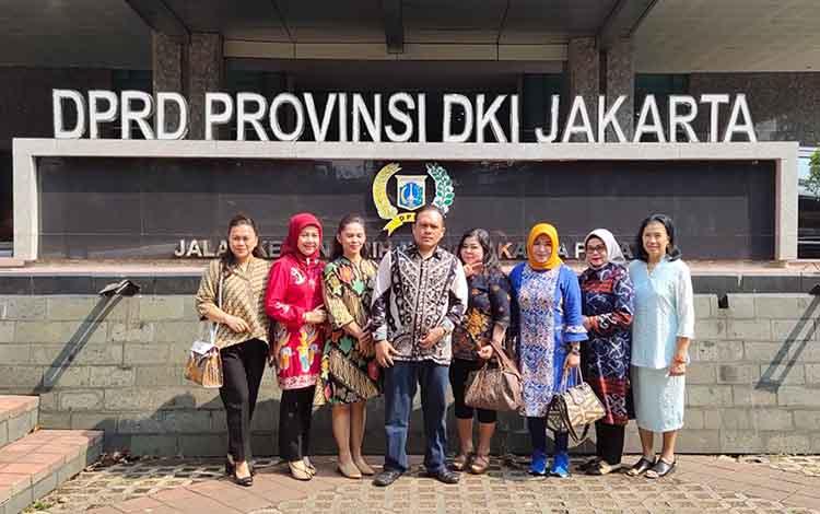 Anggota DPRD Palangka Raya kunjungan kerja ke DPRD DKI Jakarta