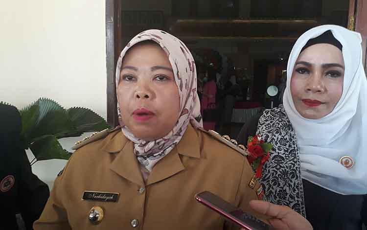 Bupati Kobar, Nurhidayah menyampaikan penanganan Karhutla di 2020 lebih mengedepankan pencegahan