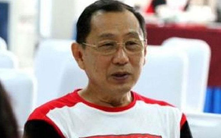 Mantan Pemain bulu tangkis Indonesia, Johan Wahyudi. (Twitter@INABadminton)