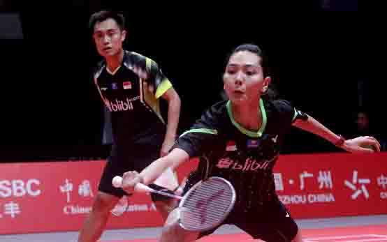 Hafiz Faizal/Gloria Emanuelle Widjaja. (badmintonindonesia.org)