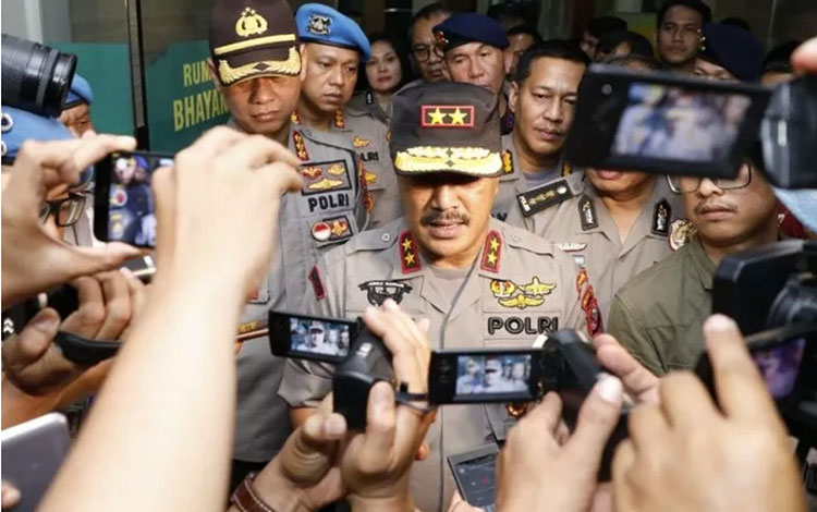Kapolda Sumatera Utara Irjen Polisi Agus Andrianto. (ANTARA/HO)
