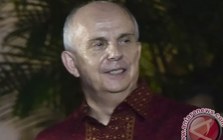 Dubes Amerika untuk Indonesia Joseph R. Donovan (ANTARA /Wahyu Putro A)