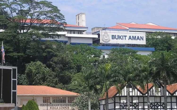 Kantor PDRM Bukit Aman. Foto ANTARA/MStar (1)