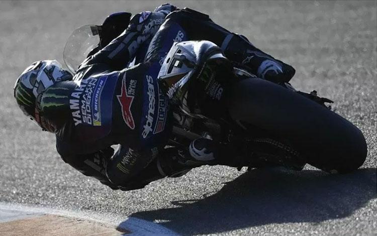 Maverick Vinales (Monster Energy Yamaha) menjalani tes pramusim di Sirkuit Ricardo Tormo, Valencia (HO/Yamaha Motor Racing Srl)