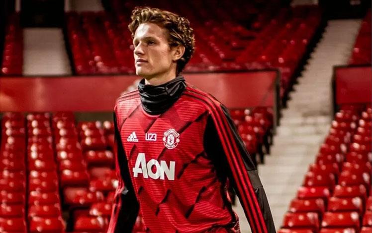 Max Taylor, salah satu pemain muda didikan akademi Manchester United (REUTERS)
