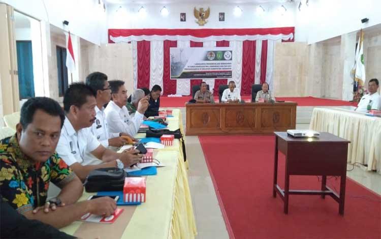 BKSDA Kalteng menggelar lokakarya pengendalian kebakaran di Suaka Margasatwa Lamandau