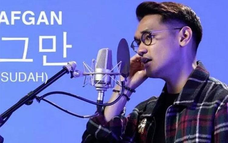 Afgan rilis lagu Sudah versi bahasa Korea. (ANTARA/HO)
