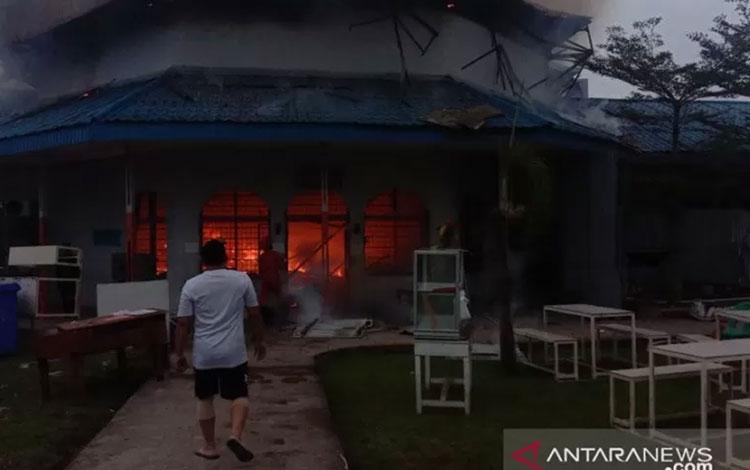 LP Wanita Tanjung Gusta di Jalan Lembaga Pemasyarakatan, Kelurahan Tanjung Kusta, Kecamatan Medan He