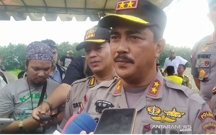 Kepala Polda Sumatera Utara, Inspektur Jenderal Polisi Agus Andrianto.(ANTARA/Nur Aprilliana Br Sito