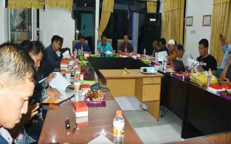 Rapat terpadu pelaksanaan seleksi CPNS Kabupaten Barito Utara