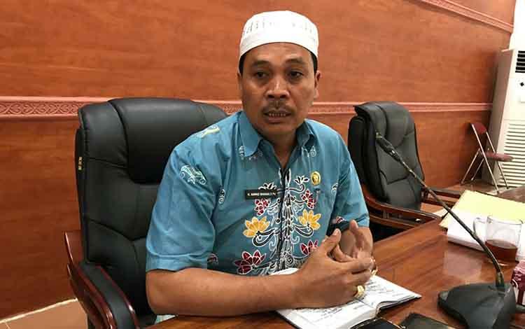 Ketua Komisi IV DPRD Kapuas Ahmad Baihaqi respon positif Puskesmas Panamas Raih Akreditasi Madya