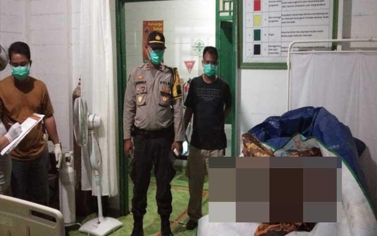 Sesosok mayat anak usia SD di Kecamatan Katingan Hulu ini ditemukan tanpa kepala