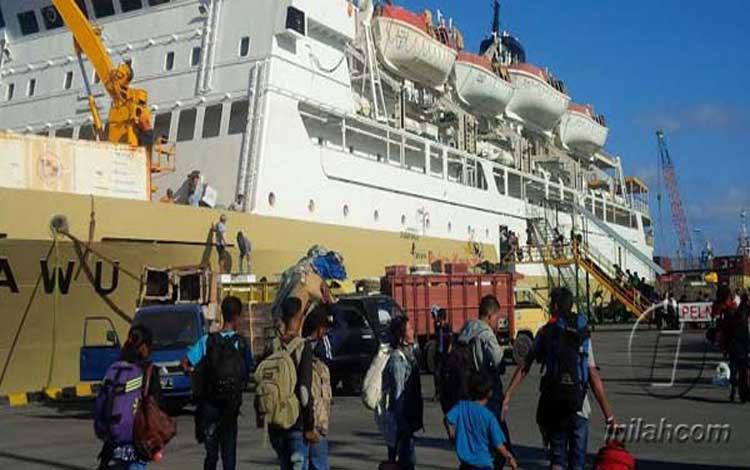 Ditjen Perhubungan Laut Kementerian Perhubungan terus mempersiapkan angkutan laut Natal 2019 dan Taahun Baru 2020