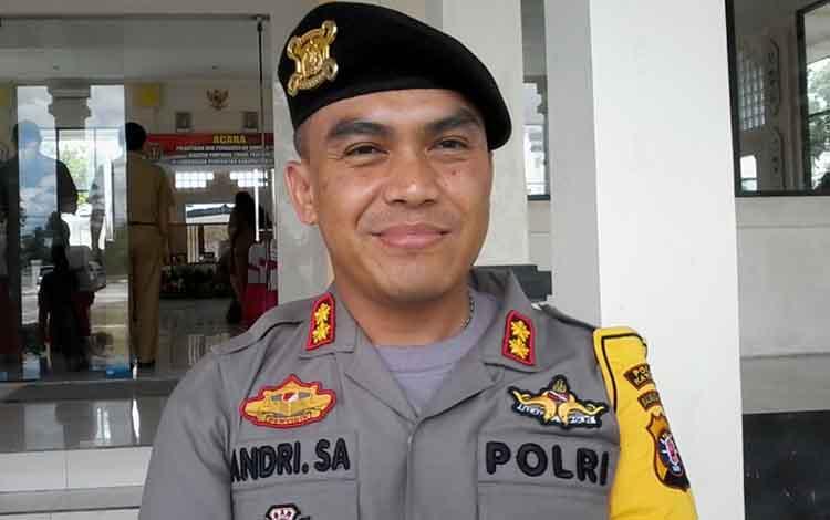 Kapolres Katingan, AKBP Andri Siswan Ansyah.