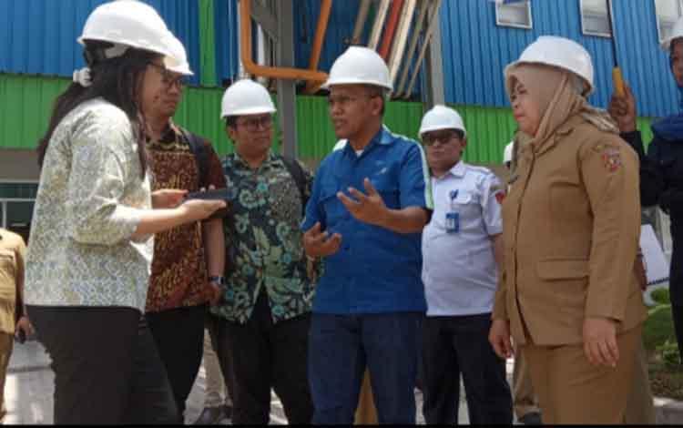 CEO CBI Group mendampingi kunjungan tim PPN/Bappenas ke kawasan industri SBI Tempenek, Senin 9 Desember 2019