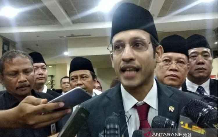 Mendikbud Nadiem Anwar Makarim. ANTARA/Indriani/aa.