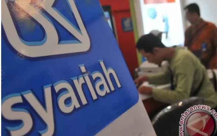 Ilustrasi: Bank BRI Syariah (ANTARA FOTO/Rosa Panggabean)