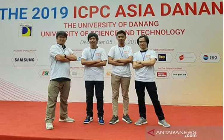 Mahasiswa Fasilkom UI Raih Medali Emas pada Ajang ICPC 2019. ANTARA/Humas UI/pri.