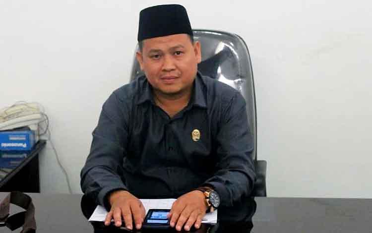 Anggota DPRD Barito Utara, Suhendra.