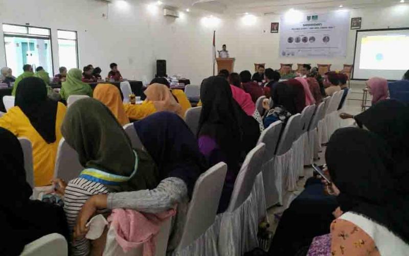 Kalangan anak muda mengikuti kegiatan bertajuk Saresahan Pilkada 2020 di Palangka Raya, Sabtu, 12 Desember 2019. Dalam kesempatan itu, pemilih pemula diajak proaktif mensukseskan pesta demokrasi tahun depan.